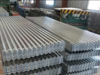 Corrugated galvanized/ galvalume steel plate3