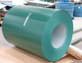 Оцинкованная сталь в рулонах с полимерным покрытием