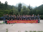 SHAONGD SINO STEEL Outdoor training- we are together , give your heart a break!