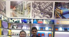 Breakthroughs and New Heights Again -- Shandong Sino-steel company succeeded in the 123th Canton Fair