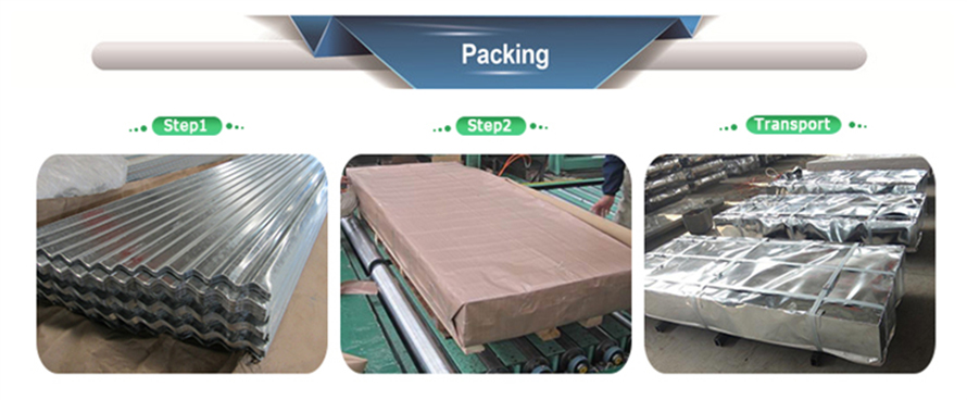 Sino Metal Material Co Ltd Mail: Galvanized Corrugated Steel Sheet