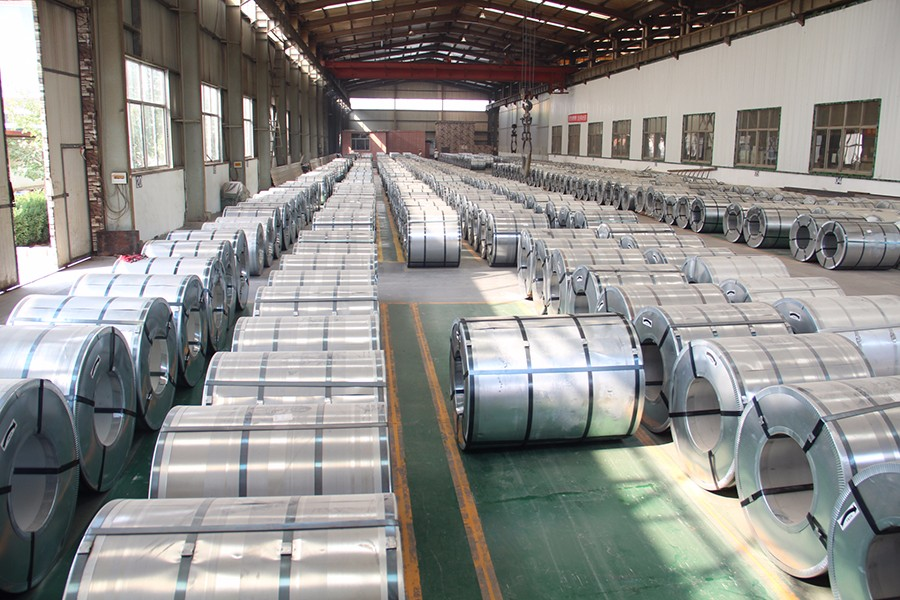 Sino Metal Material Co Ltd Mail: GALVANIZED/GALVALUME STEEL COIL