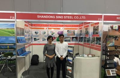 Shandong sino steel Co.,Ltd will show you about the Peru's EXCON 2018 Exhibition!!!